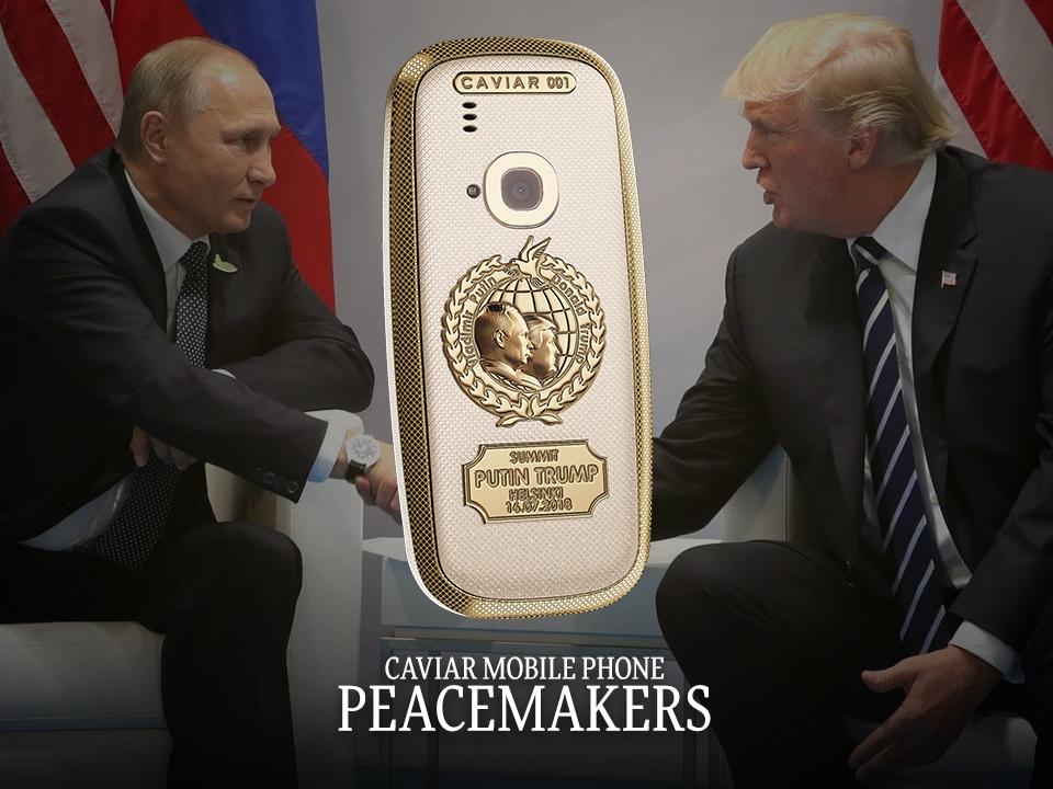 Caviar Putin Trump Summit