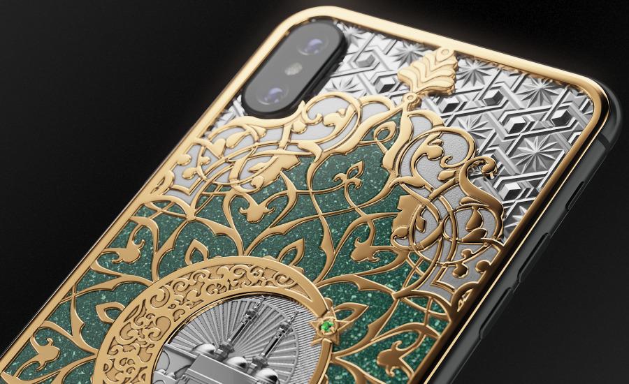 Gulfs Marvel iPhone X by Caviar