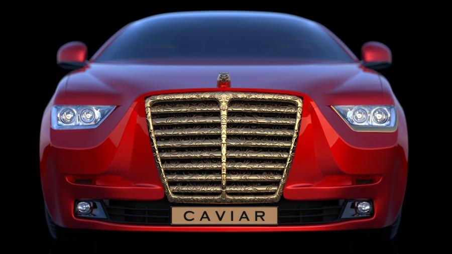 Tesla car concept by Caviar designers