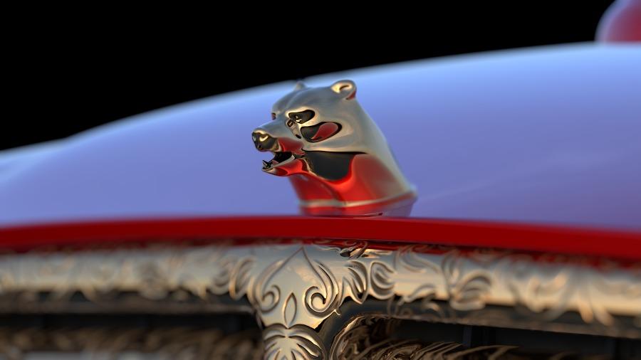 Tesla car luxury concept