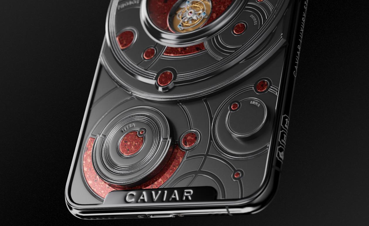 iPhone 11 Pro Mars by Caviar