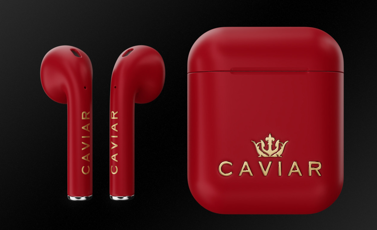 AirPods Product (Red) version by Caviar
