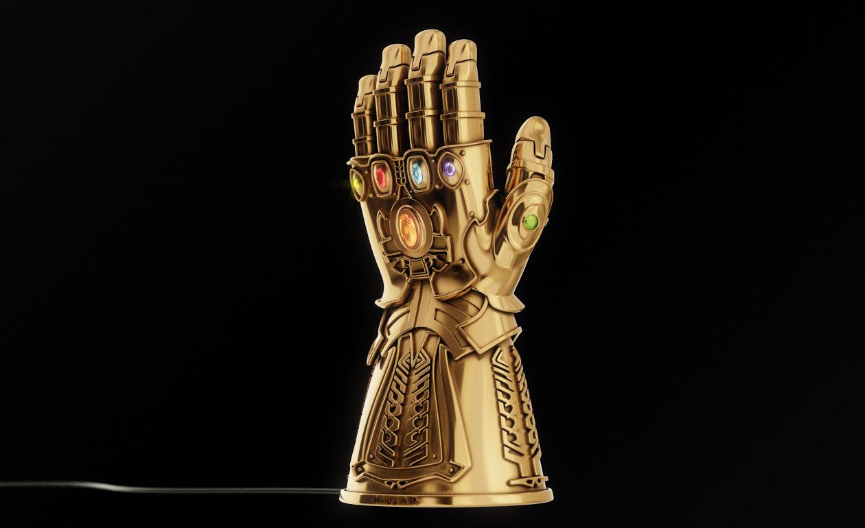 Golden Infinity Gauntlet