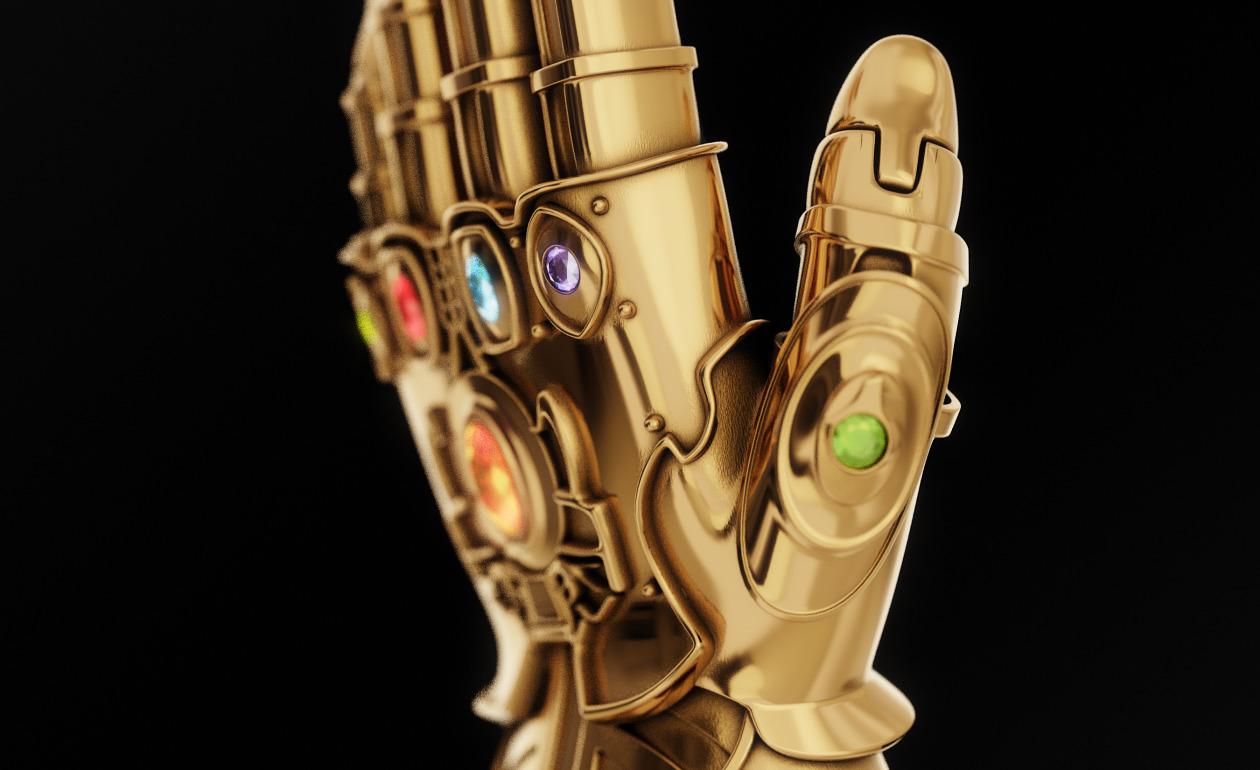 Gold Infinity Gauntlet