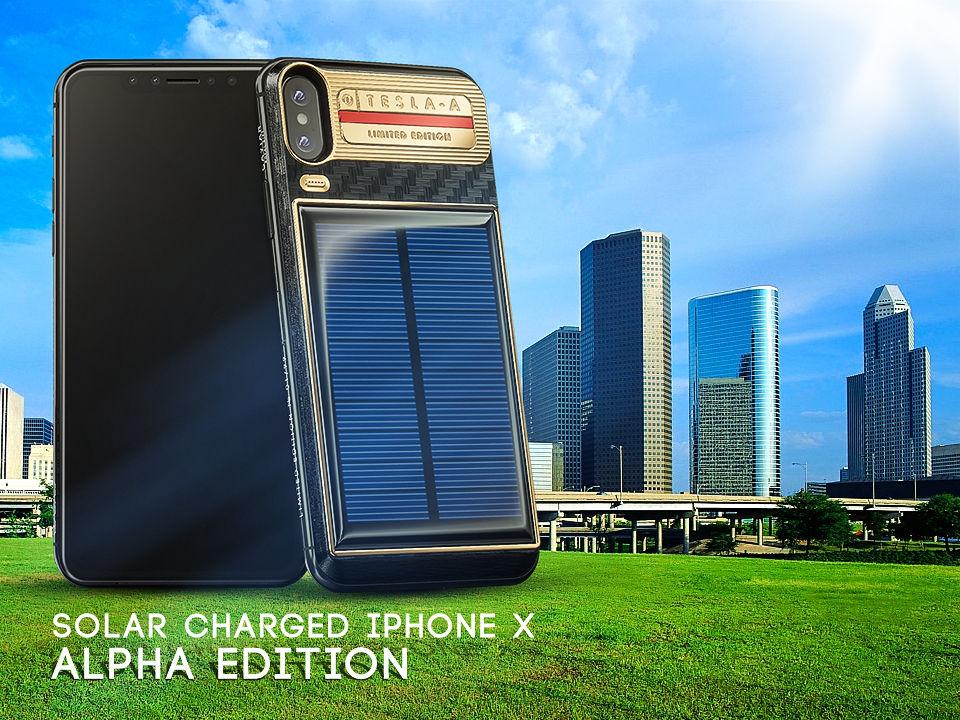 Customized iPhone Tesla by Caviar