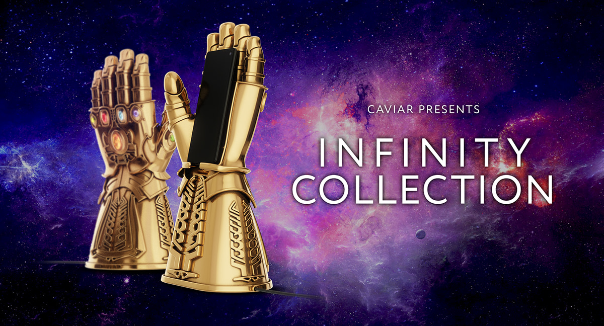 Infinity Gauntlet by Caviar
