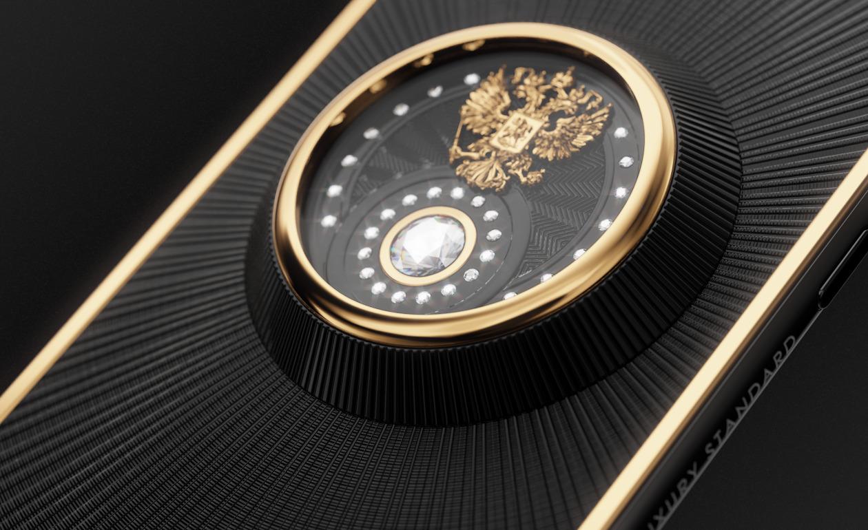 Бриллиантовый iPhone от Caviar