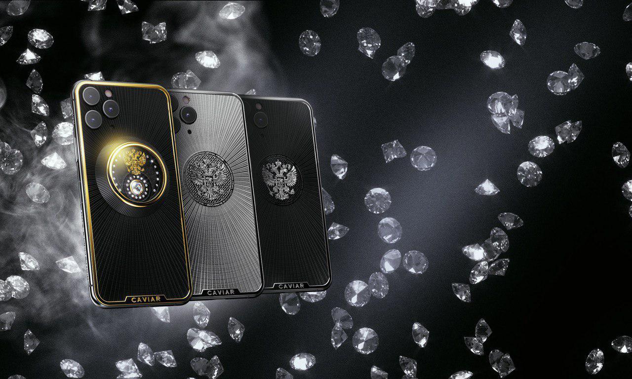 Патриотические iPhone с гербом России