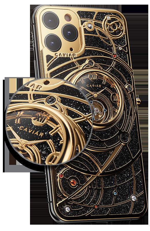 Iphone 11 Xl Universe Diamond By Caviar