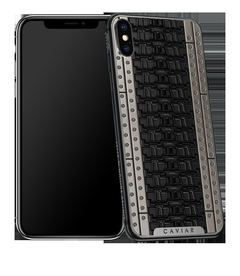 Caviar spécialiste des iPhone X en édition limitée.
