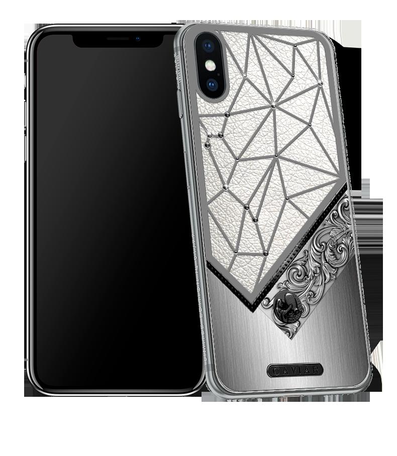 Iphone X With Aquarius Horoscope Symbol Caviar Zodiac