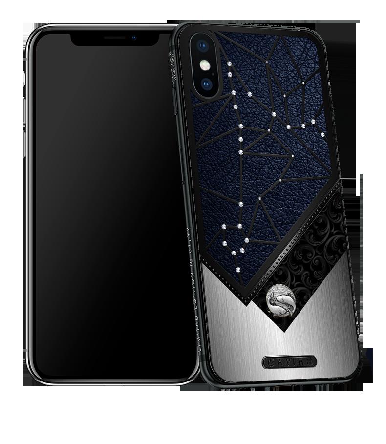 Iphone X With Pisces Horoscope Symbol Caviar Zodiac