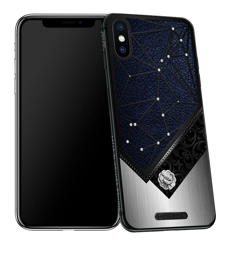 Iphone X With Scorpio Horoscope Symbol Caviar Zodiac