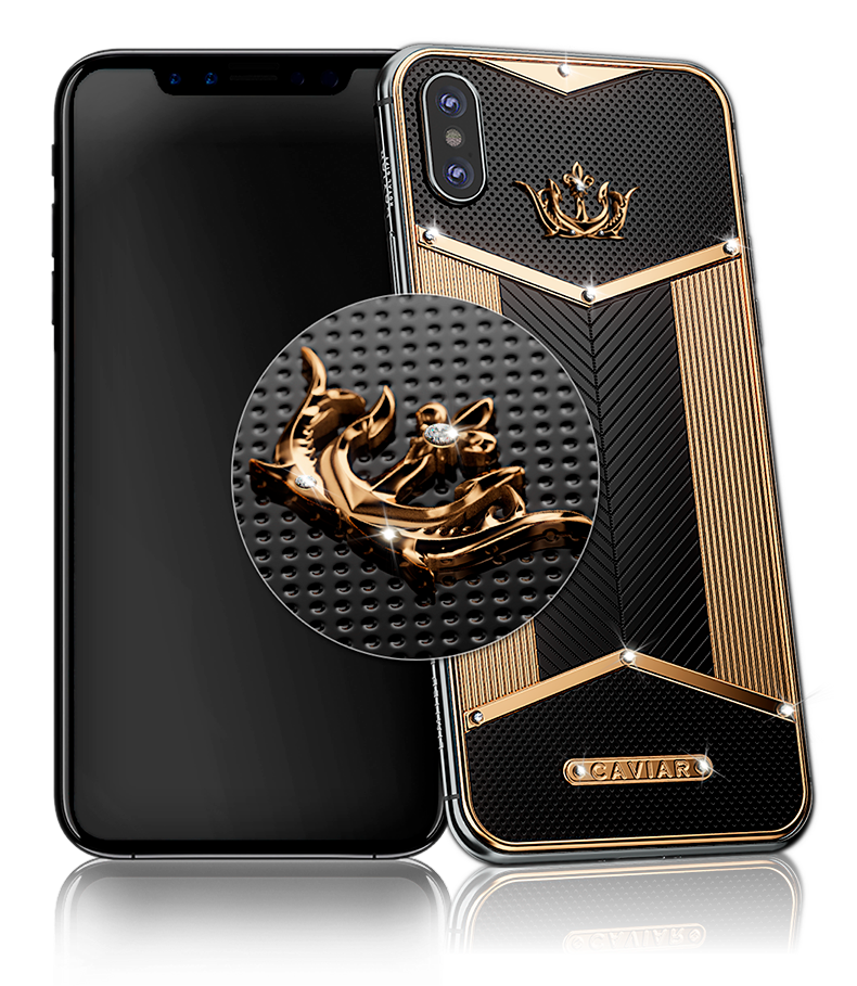 Buy Caviar Iphone X Black Diamonds X Edition