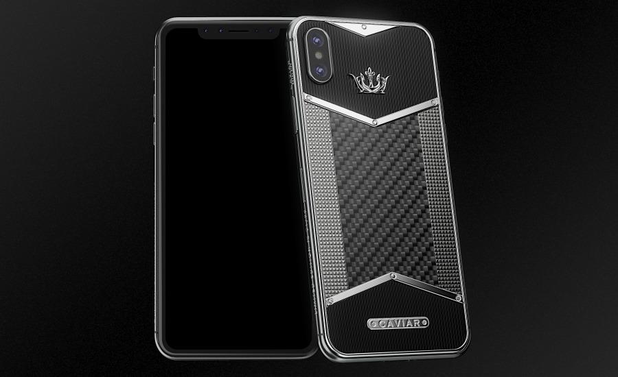 Caviar spécialiste des iPhone X en édition limitée