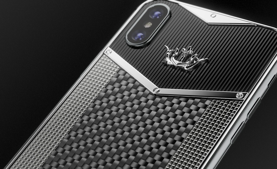 buy caviar iphone x edition black white carbon