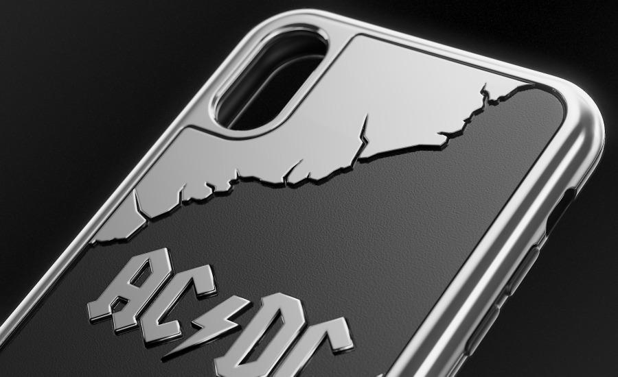 Ac Dc Iphone X Case Caviar