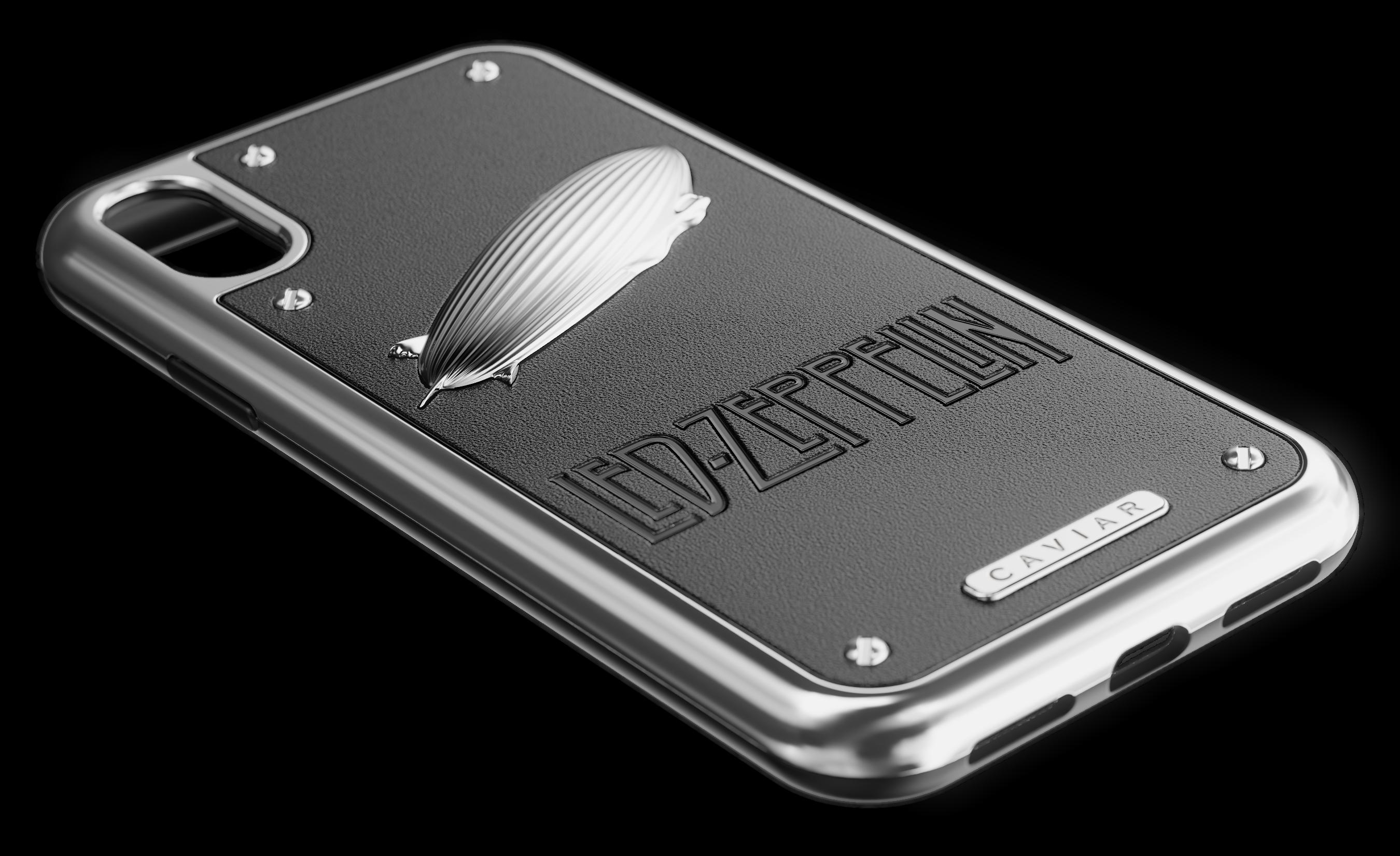 on sale 0a0fa e9e12 Led Zeppelin iPhone X case - Caviar