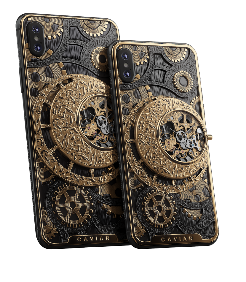Caviar iPhone Xs/Xs Max :: Grand Complications Skeleton