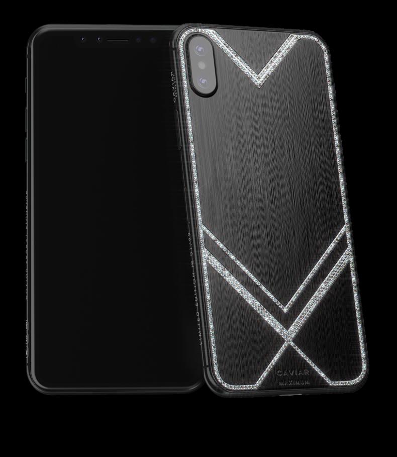 new arrival 6b4d7 f0eb1 Caviar iPhone XS Max :: Maximum Diamonds