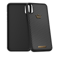 Caviar iPhone X case Classic Carbon