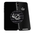 Caviar iPhone X Classic Corona Carbon Diamonds