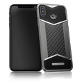 Caviar iPhone X-Edition Black White Carbon