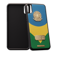 Football iPhone X case Brazil