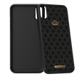 Caviar iPhone X case Classic Leather