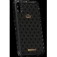 luxury leather iPhone X case