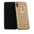 Donald Trump golden iPhone