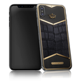 Caviar iPhone X X-Edition Alligatore Black Gold