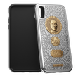 Caviar iPhone X case Nazarbayev