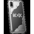 AC/DC iPhone X titanium case