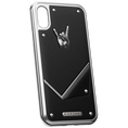"""iPhone X Case Titans of rock """"Rock Star"""" by Caviar"""