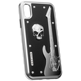 "iPhone X Case Titans of rock ""Hard Rock"" by Caviar"