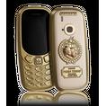 golden Nokia 3310 Putin-Trump Peacemakers by Caviar