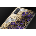 designer iPhone Xs Love Iris