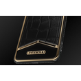 iPhone X Alligatore Black Gold X-Edition image