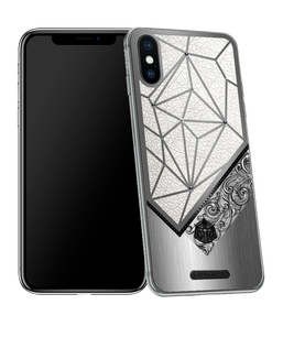 iPhone X with Libra Horoscope Symbol