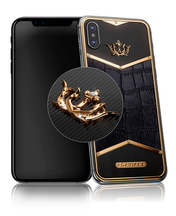 Caviar iPhone Alligatore Diamonds X-Edition
