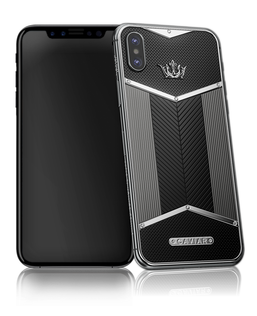 Caviar iPhone X Edition Black White