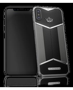 Caviar iPhone X Edition Black White