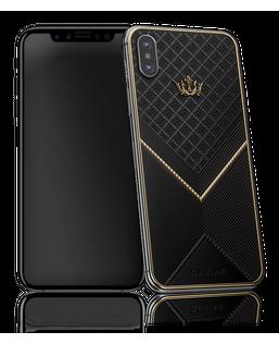 Caviar iPhone X Gold Black Onyx X-Edition