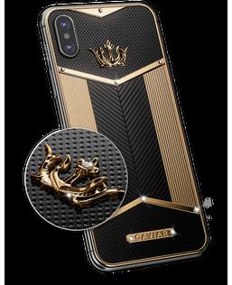 Expensive smartphone Apple iPhone X Black Diamonds X-Edition