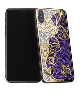 Caviar iPhone X Love Iris