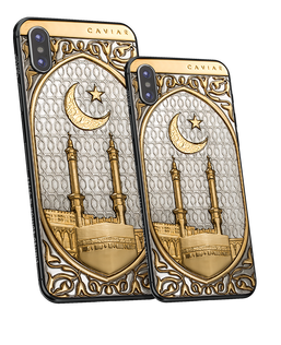 Caviar iPhone Xs Mekka Gold