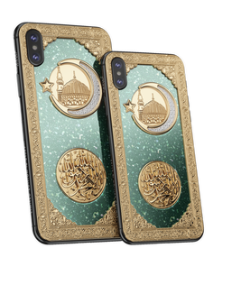 Caviar iPhone Xs Credo Medina Nephrite