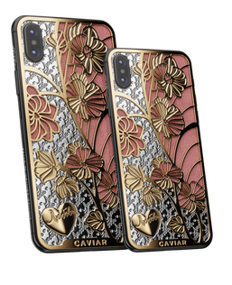 Caviar iPhone X Love Orchids