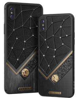 iPhone Xs with Virgo Zodiac Sign